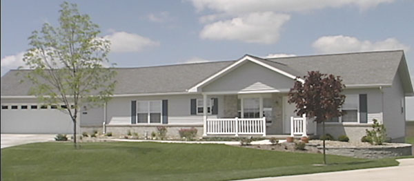 Modular home illinois modular home builders for New construction ranch style homes in illinois